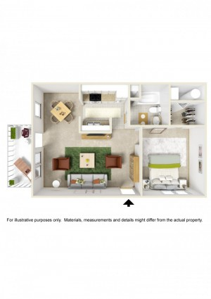 Evergreen-1BR-3D-Floorplan-e1429838588447
